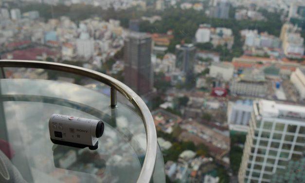 Filmer un gratte-ciel à Hô-chi Minh ville