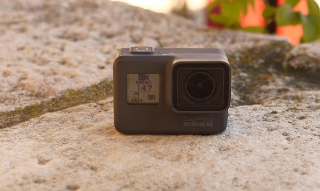Test terrain GoPro Hero6 Black