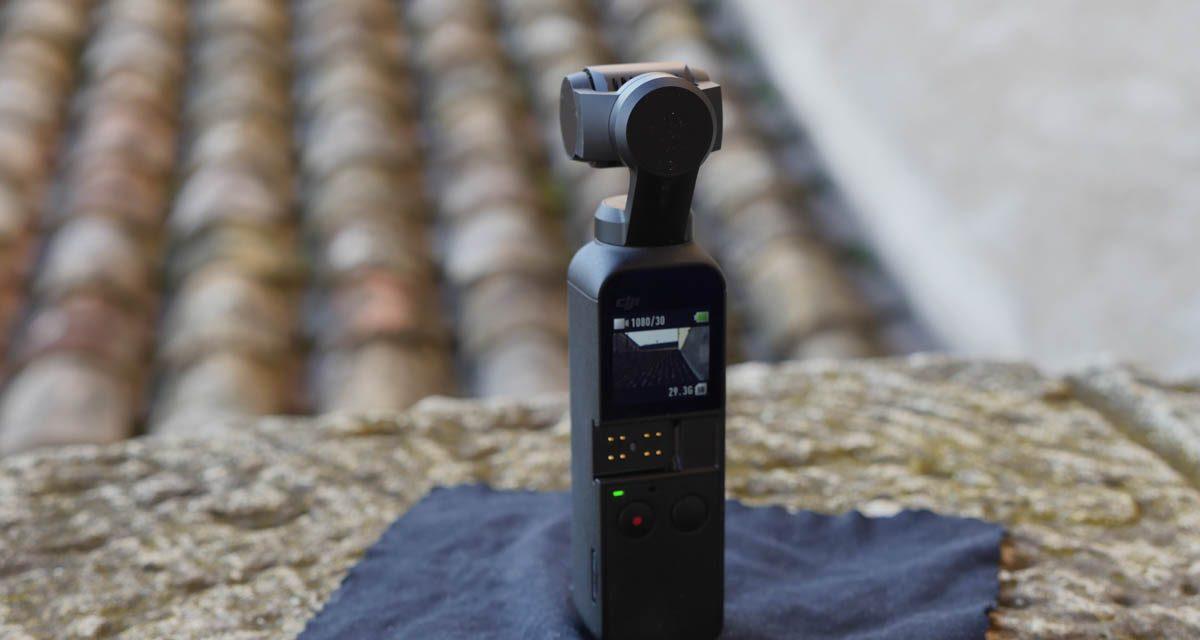 Test caméra stabilisée DJI Osmo Pocket