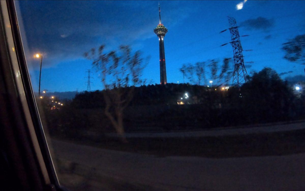 Photographier ou filmer la Tour Milad de Téhéran